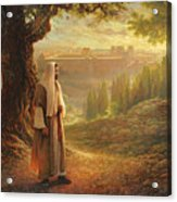 Wherever He Leads Me Acrylic Print by Greg Olsen