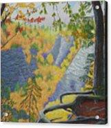 Whetstone Gulf State Park Ny Gorge Acrylic Print