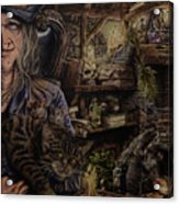Which Witch Is Which Acrylic Print by Robert Haasdijk