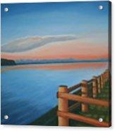 Whidbey Island Sunset Acrylic Print