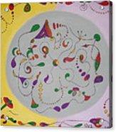 Whimsical Circle Acrylic Print