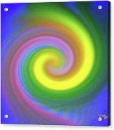Whimsical Inward Twirls #111 Acrylic Print