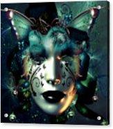 Whimsical Masquerade Acrylic Print