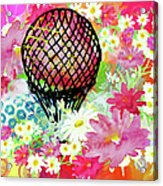 Whimsical Musing High In The Air Acrylic Print