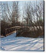 Whimsicle Winter Acrylic Print