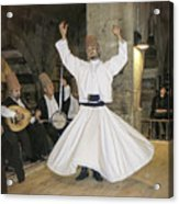 Whirling Dervish Acrylic Print
