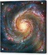 Whirlpool Galaxy  Acrylic Print by Jennifer Rondinelli Reilly - Fine Art Photography