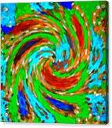 Whirlwind - Abstract Art Acrylic Print