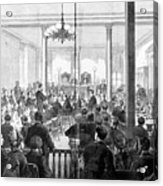 Whiskey Ring Trial, 1876 Acrylic Print by Granger