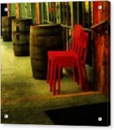 Whiskey Row Acrylic Print