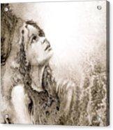 Whisper A Little Prayer For Me Acrylic Print