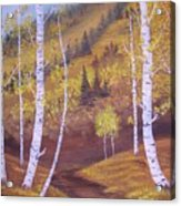 Whisper Of Leaves Acrylic Print
