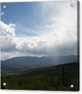 Whispering Rain Acrylic Print