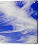 Whispy Clouds Acrylic Print