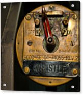 Whistle Switch Acrylic Print