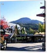 Whistler Mountain Acrylic Print