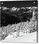 Whistler Mountain Winter Scenery Acrylic Print