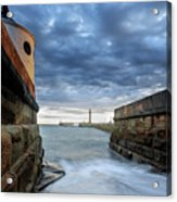 Whitby Morning Tide 2 Acrylic Print