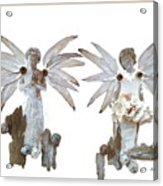 White Angels Acrylic Print