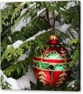 White Christmas II Acrylic Print