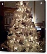 White Christmas Snow Ball Gala Acrylic Print