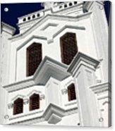 White Church Acrylic Print