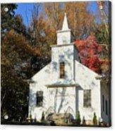 Little Country Church Acrylic Print