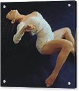 White Dancer Right View Acrylic Print