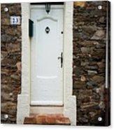 White Door 23 Acrylic Print