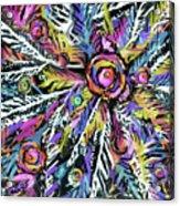 White Ferns - Detail Acrylic Print