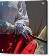 White Gloves Acrylic Print
