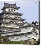 White Heron Castle - Himeji City Japan Acrylic Print