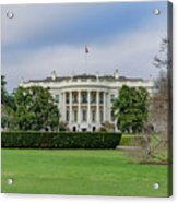 White House Acrylic Print