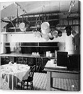 White House Kitchen, 1901 Acrylic Print