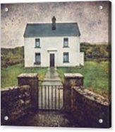 White House Of Aran Island I Acrylic Print