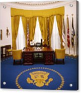 White House: Oval Office Acrylic Print
