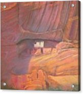 White House Rock  Home Of He Anasazi He Anasazi Acrylic Print