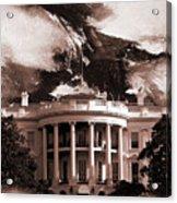 White House Washington Dc Acrylic Print