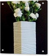 White In White Acrylic Print