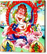 White Jambhala  2 Acrylic Print