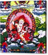 White Jambhala 3 Acrylic Print