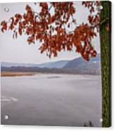 White Lake Acrylic Print