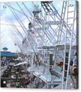 White Marlin Open Docks Acrylic Print