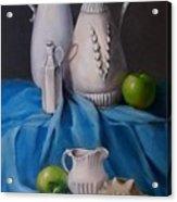 White Menagerie  Acrylic Print