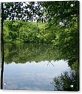 White Mill Park - Summer 2 Acrylic Print