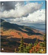 White Mountain Foliage Acrylic Print