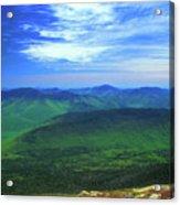 White Mountain Leafout From Franconia Ridge Acrylic Print