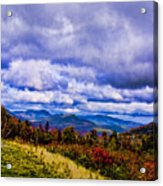 White Mountains Acrylic Print