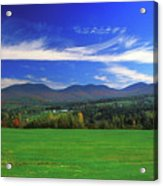 White Mountains From Route 2 Acrylic Print