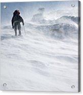 White Mountains New Hampshire - Extreme Weather Acrylic Print